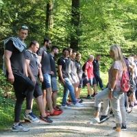 Begehung des Atem-Weg - HSC Suhr Aarau