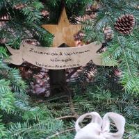 Weihnachtsbaum auf dem Atem-Weg