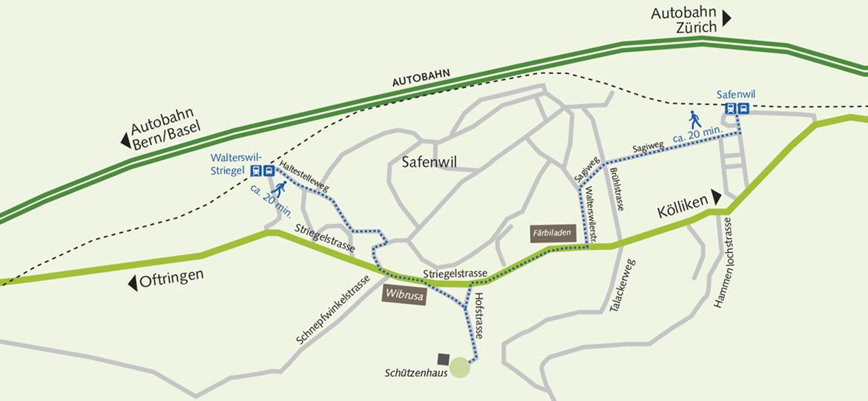 Atemweg Karte ÖV