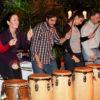 Bewegtes Drumming auf dem Atemweg